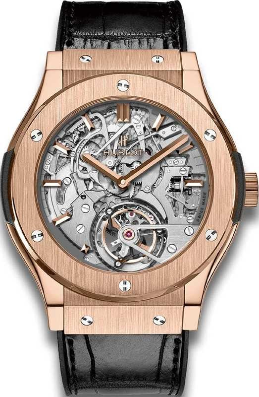 Hublot Classic Fusion Tourbillon Cathedral Minute Repeater King Gold 504.OX.0180.LR