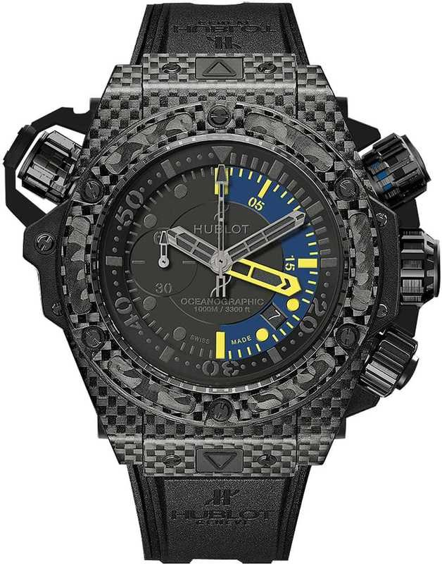 Hublot King Power Oceanographic 1000 Carbon 48mm 732.QX.1140.RX