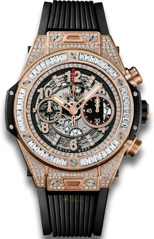 Hublot Big Bang Unico King Gold Jewellery 411.OX.1180.RX.0904