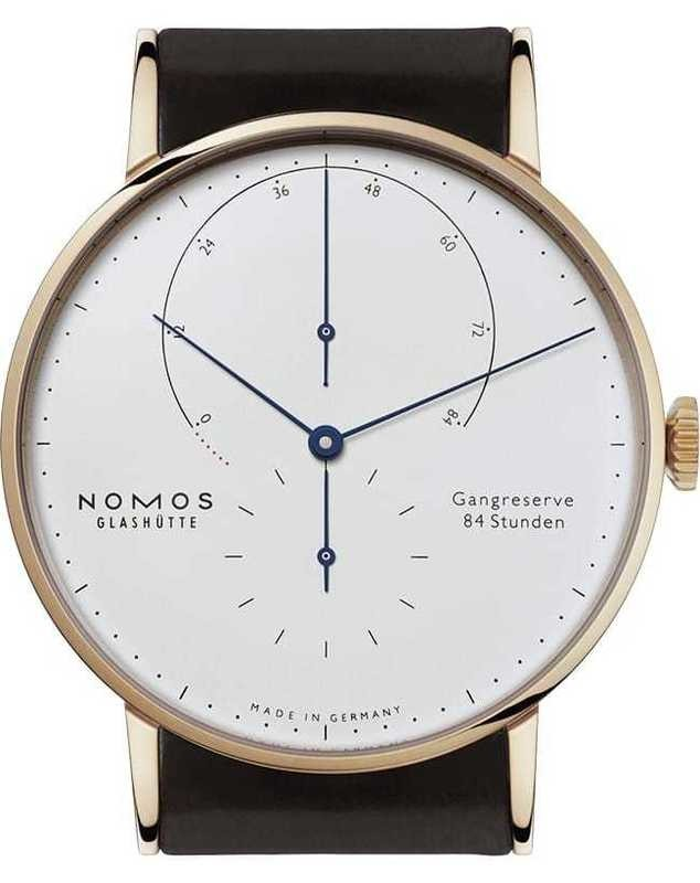NOMOS Glashütte Lambda Blue Hands
