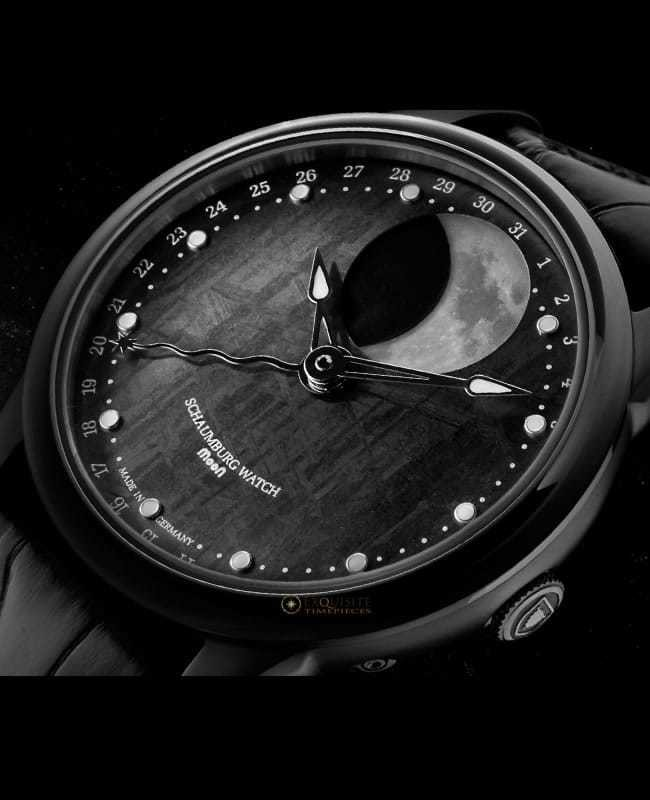 Schaumburg Watch Moon Grand Perpetual Meteorite PDV
