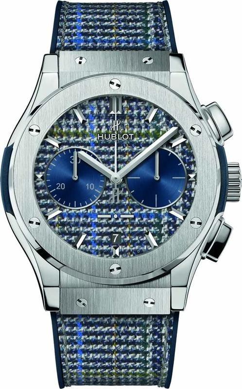 Hublot Classic Fusion Chronograph Italia Independent Titanium Prince de Galles