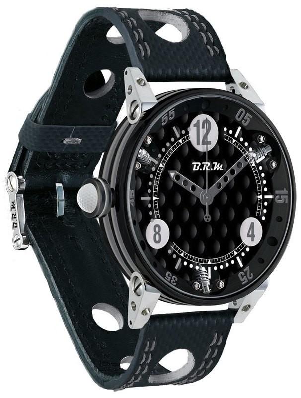 BRM 6-44 Golf Black Dial Silver