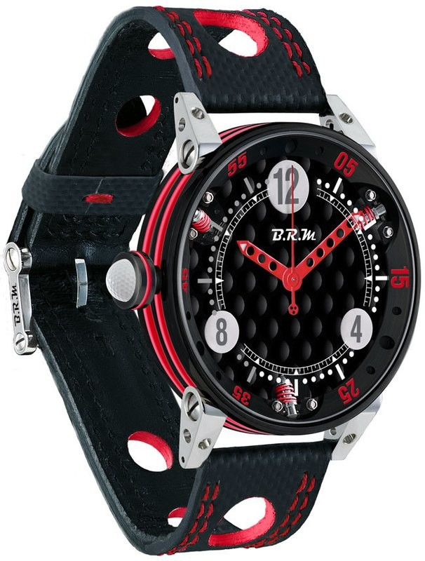 BRM 6-44 Golf Black Dial Red GF6-44-SA-N-AR