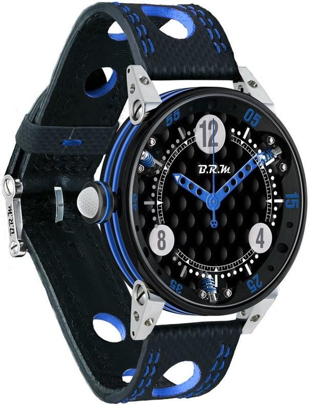 BRM 6-44 Golf Black Dial Blue GF6-44-SA-N-ABLF