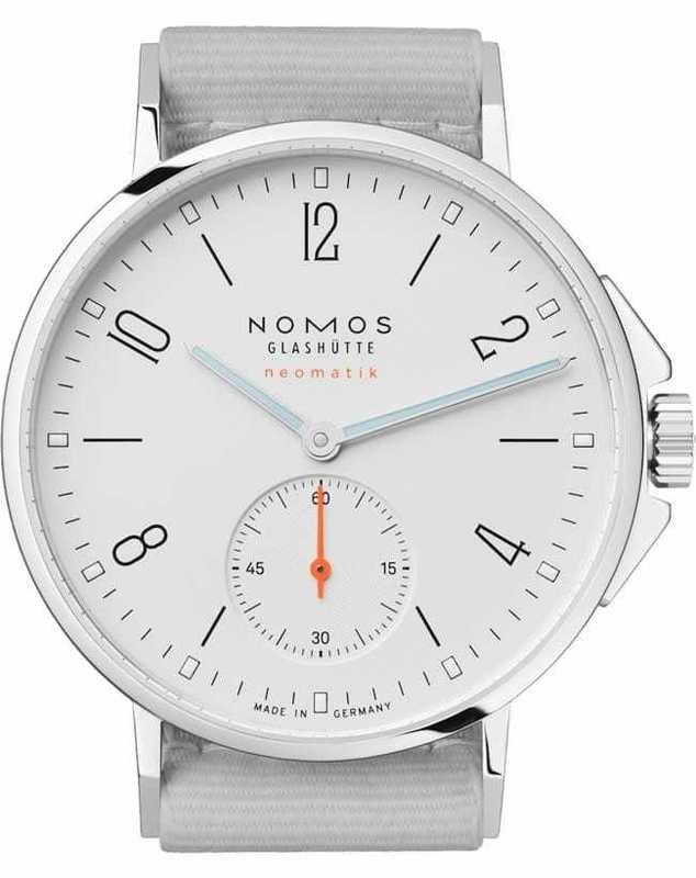 NOMOS Glashütte Ahoi Neomatik White Silver
