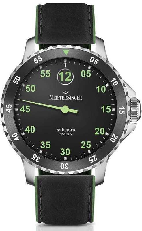 MeisterSinger Salthora Meta X Black/Green