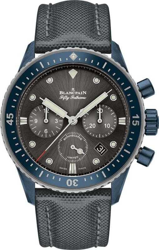 Blancpain Fifty Fathoms Bathyscaphe Chronographe Flyback Ocean Commitment