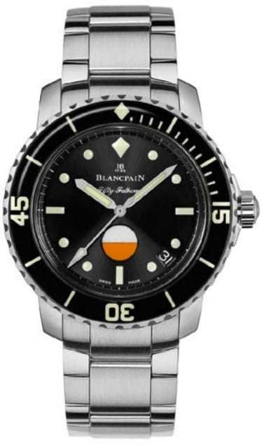 Blancpain Fifty Fathoms Mil-Spec on Bracelet