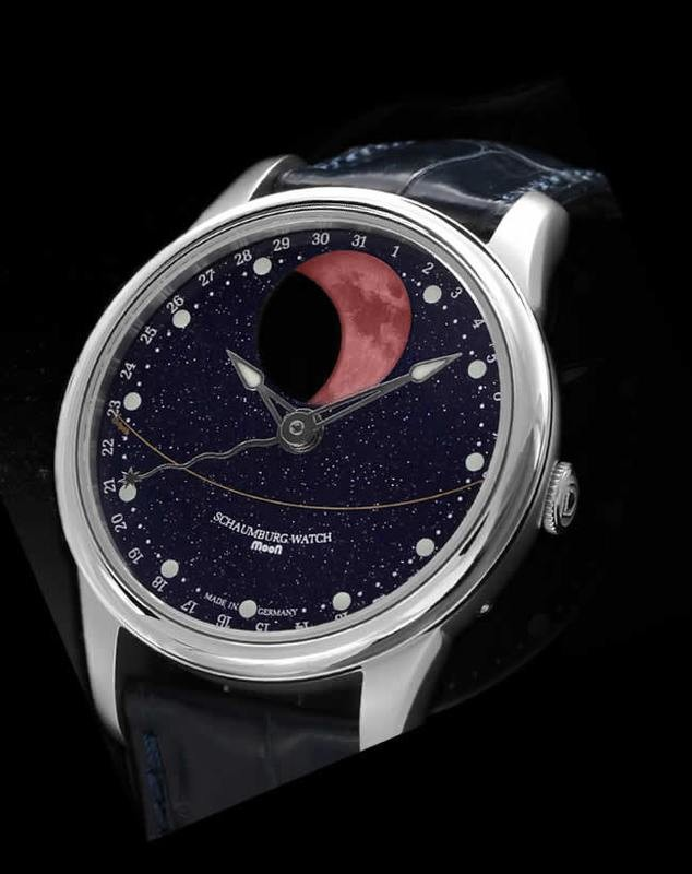 Schaumburg Watch Blood Moon Galaxy