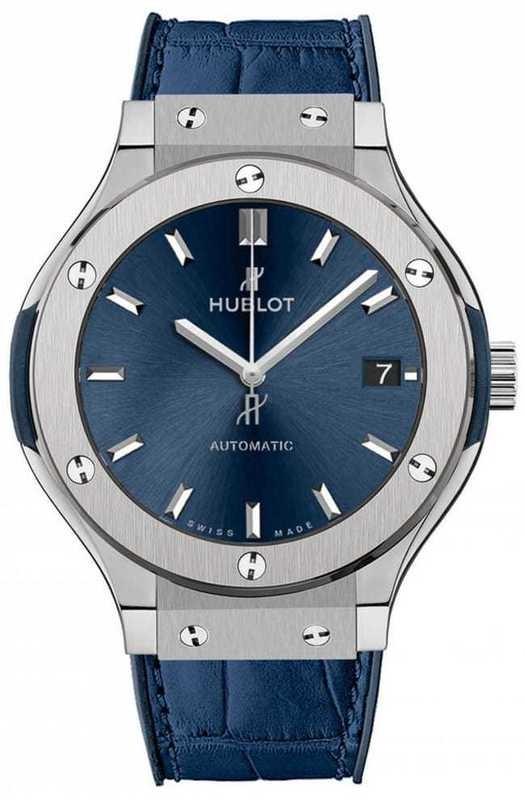 Hublot Classic Fusion Titanium Blue 38mm