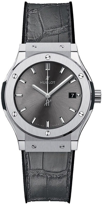 Hublot Classic Fusion Titanium Racing Grey 33mm Quartz