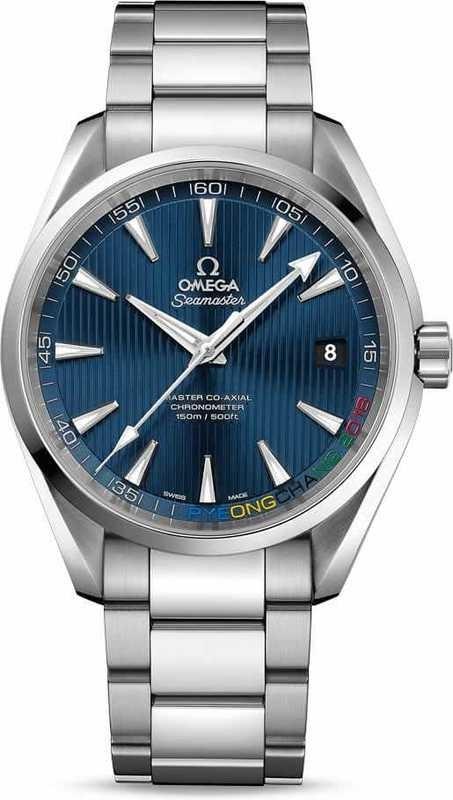 Omega Aqua Terra 150M Pyeongchang 2018 Limited Edition