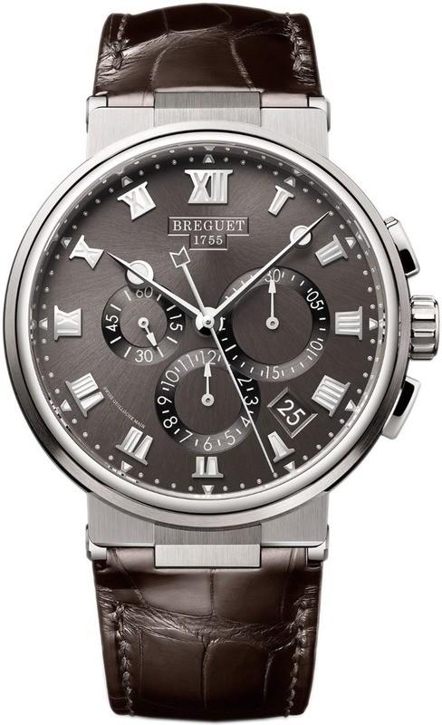 Breguet Marine Chronographe 5527TI/G2/9WV