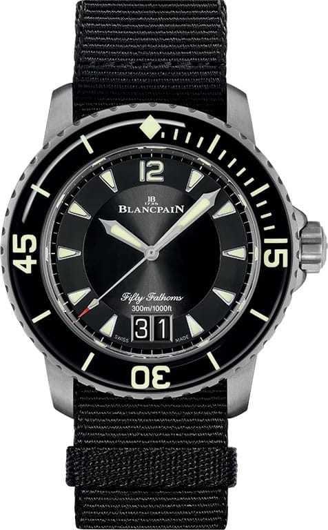 Blancpain Fifty Fathoms Automatic Grande Date 5050 12B30 NABA