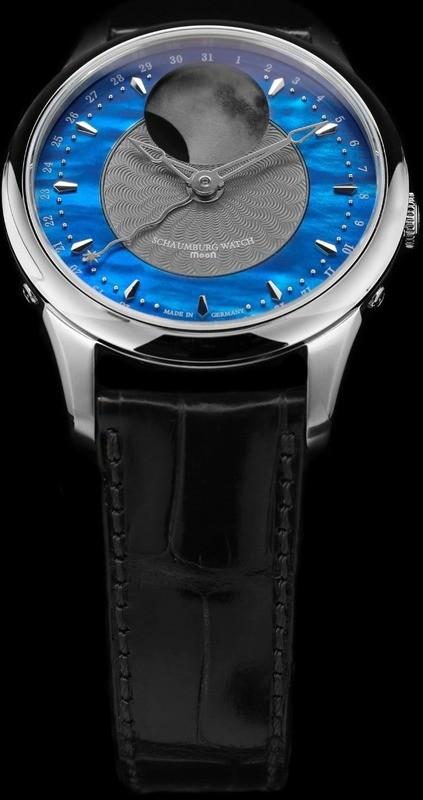 Schaumburg Watch Blue Nebula