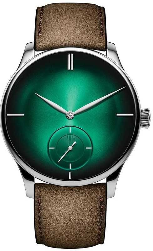 H. Moser & Cie Venturer Small Seconds XL Green