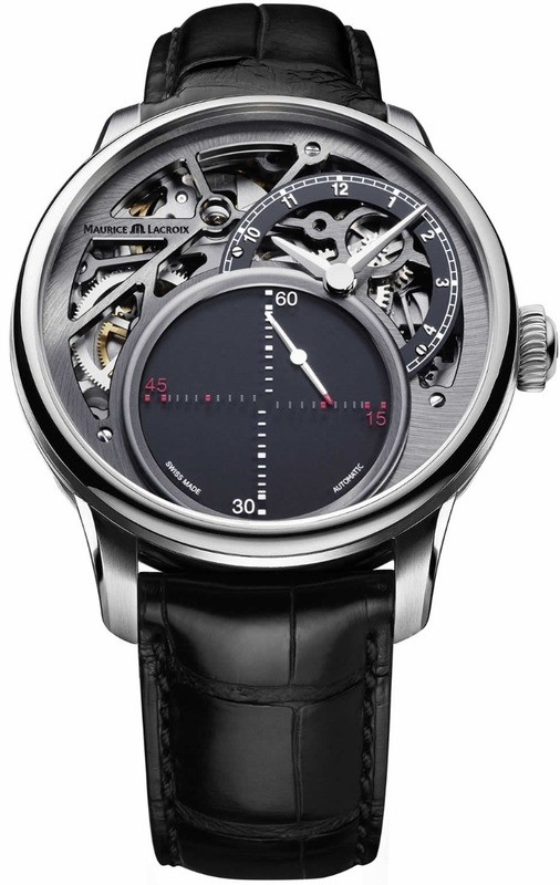 Maurice Lacroix Masterpiece Mysterious Seconds