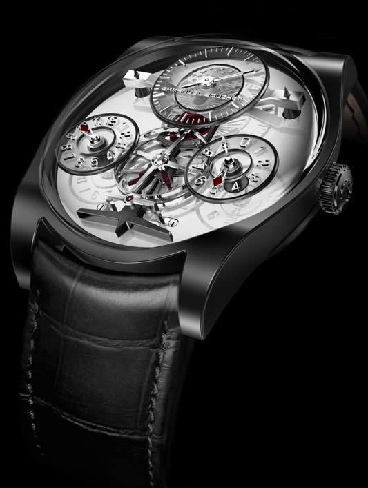 Emmanuel Bouchet Complication One Titanium White Dial