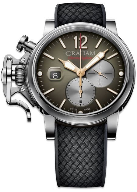 Graham Chronofighter Grand Vintage Brown Sunbrushed Dial