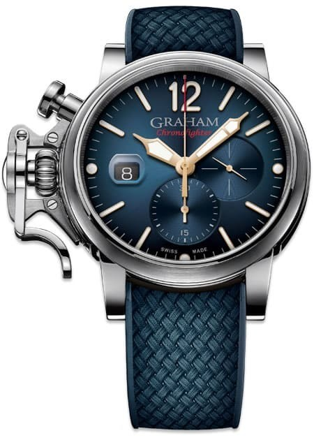 Graham Chronofighter Grand Vintage Blue Dial