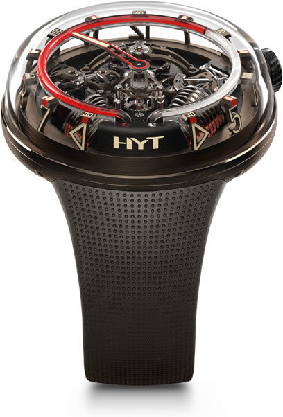 HYT H20 Black DLC Brown Limited Edition