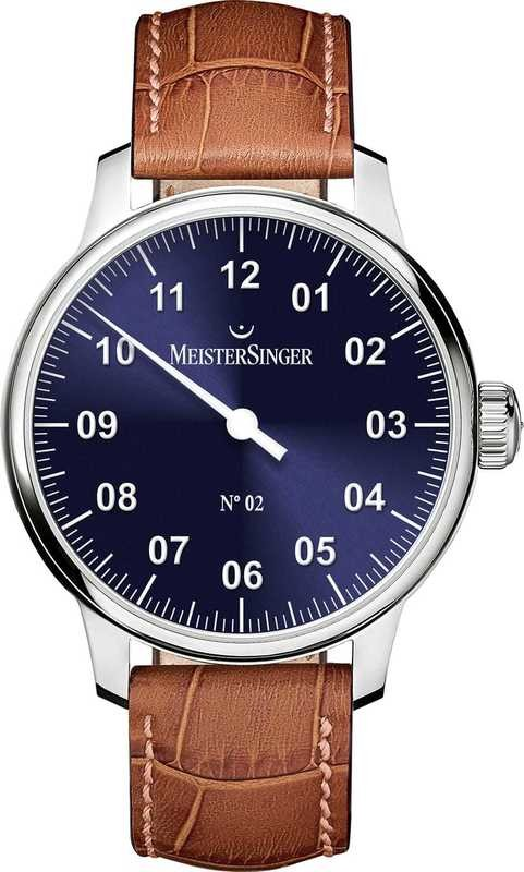 MeisterSinger No 02 Sunburst Blue AM6608N