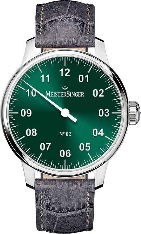 MeisterSinger No 02 Sunburst Green AM6609N