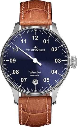 MeisterSinger Circularis Automatic Sunburst Blue CC908