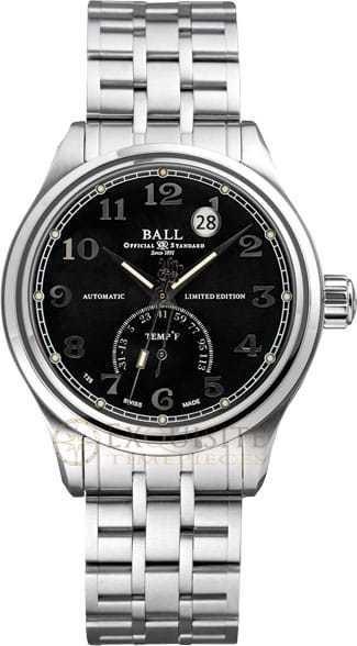 Ball Watch Trainmaster TMT Fahrenheit Ltd. Edition NT1050D-SJ-BKF