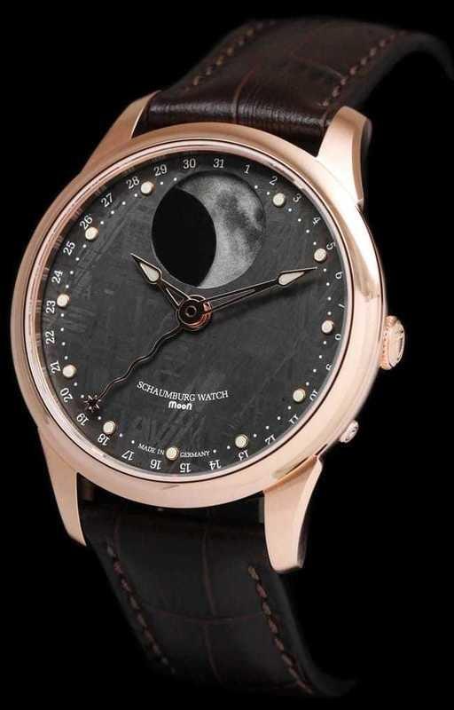 Schaumburg Moon Meteorite 18k Gold