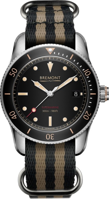 Bremont Supermarine S301 on NATO Strap