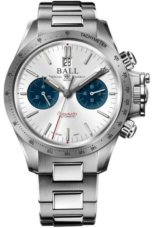 Ball Engineer Hydrocarbon Racer Chronograph Silver