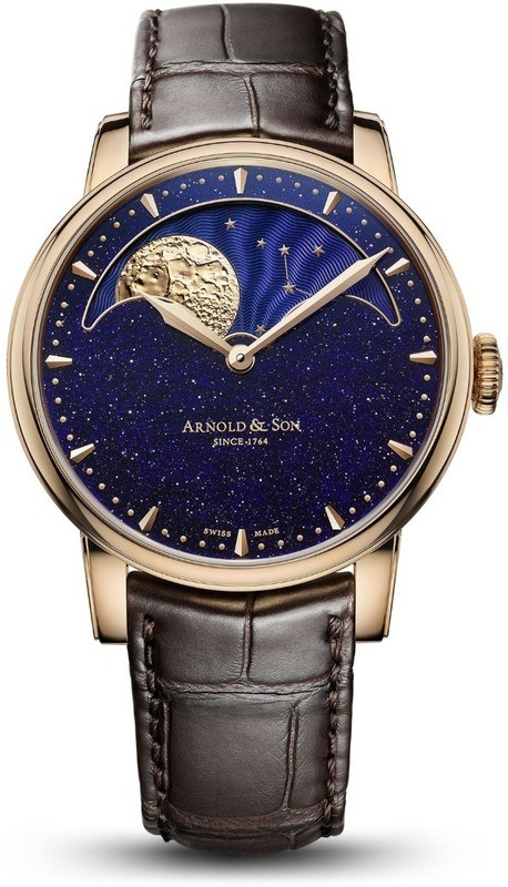Arnold & Son HM Perpetual Moon Aventurine Dial