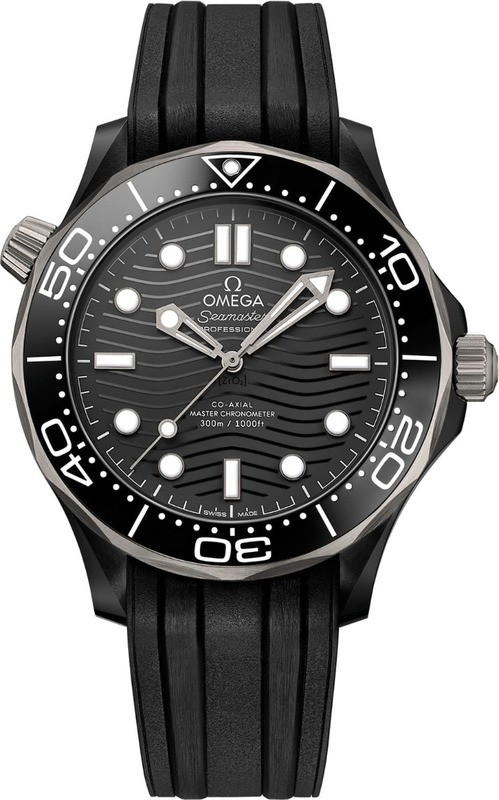 Omega Seamaster Diver 300m Co-Axial Master Chronometer 43.5mm Ceramic