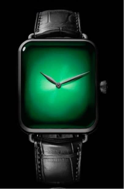 H. Moser & Cie. Swiss Alp Watch Cosmic Green DLC