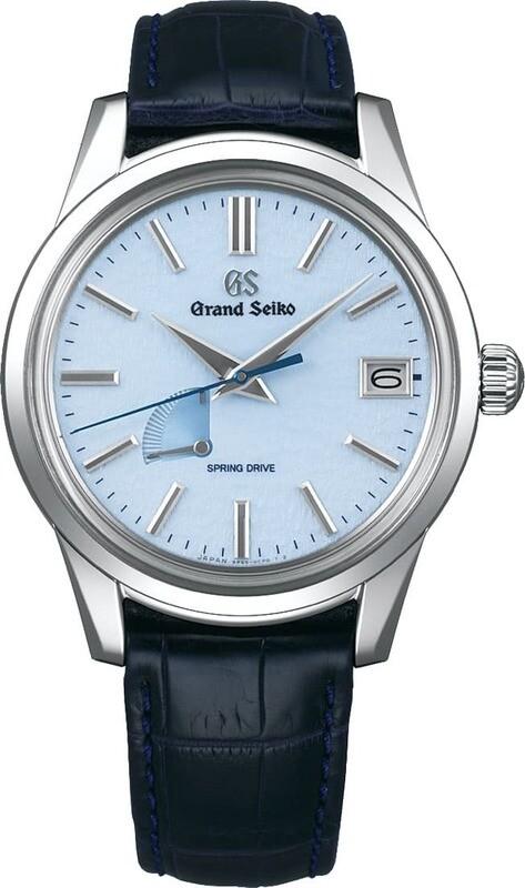 Grand Seiko Elegance SBGA407 Blue Snowflake