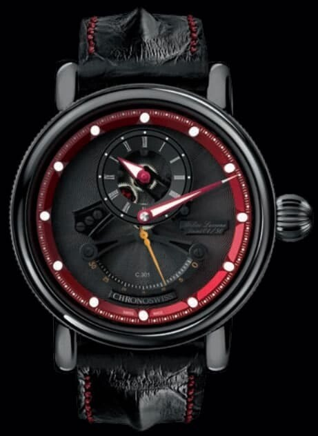 Chronoswiss Flying Grand Regulator Open Gear ReSec Black Red