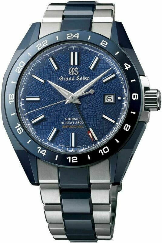 Grand Seiko Blue Ceramic Limited Edition SBGJ229