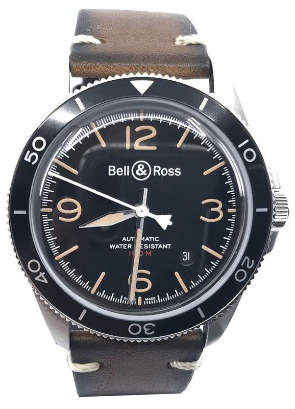 Bell & Ross BRV292-HER-ST/SRB