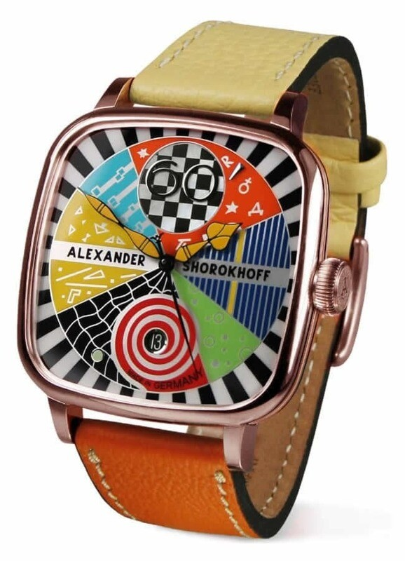 Alexander Shorokhoff Kandy Avantgarde Rose Gold