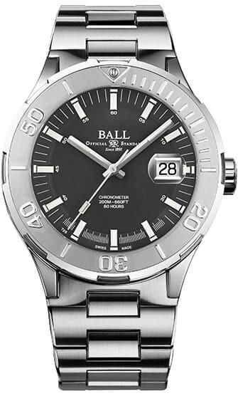 Ball Roadmaster M Skipper Grey 43mm