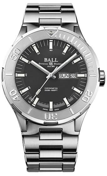Ball Roadmaster Skipper Day Date Grey 43mm