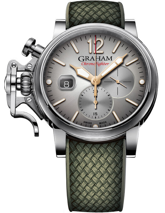 Graham Chronofighter Grand Vintage Silver Dial