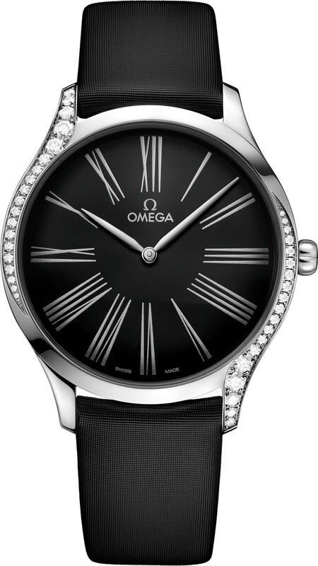 Omega De Ville Steel Diamonds Quartz 39mm
