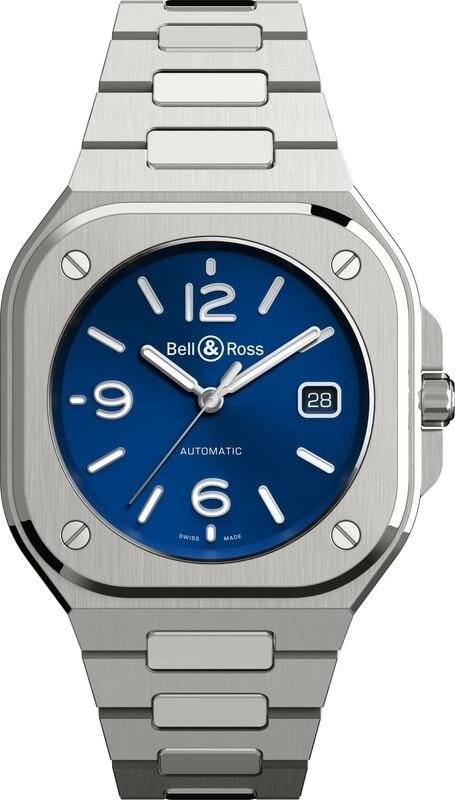 Bell & Ross BR 05 Blue on Bracelet