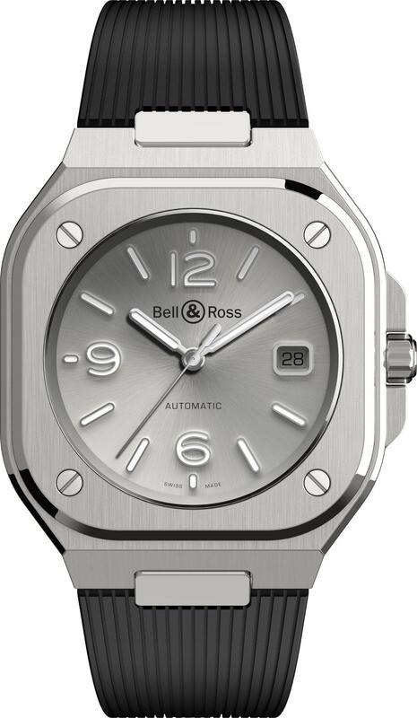 Bell & Ross BR 05 Grey on Strap
