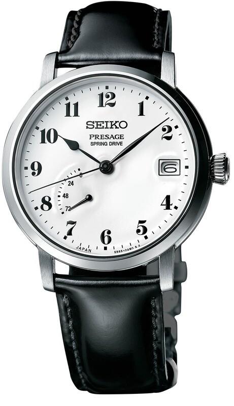 Seiko Presage SNR037 Prestige Line Enamel Dial Spring Drive