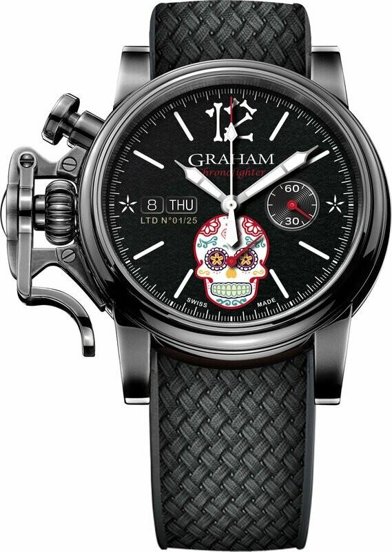Graham Chronofighter Vintage Dia de Los Muertos Limited Edition