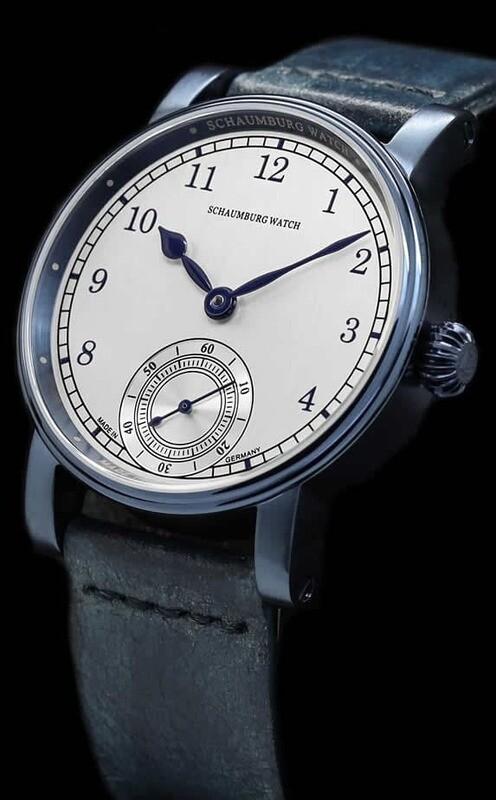 Schaumburg Watch Marine Blue